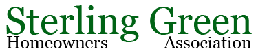 Sterling Green HOA